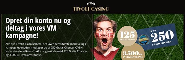 Tivoli Casino bonuskode 2018